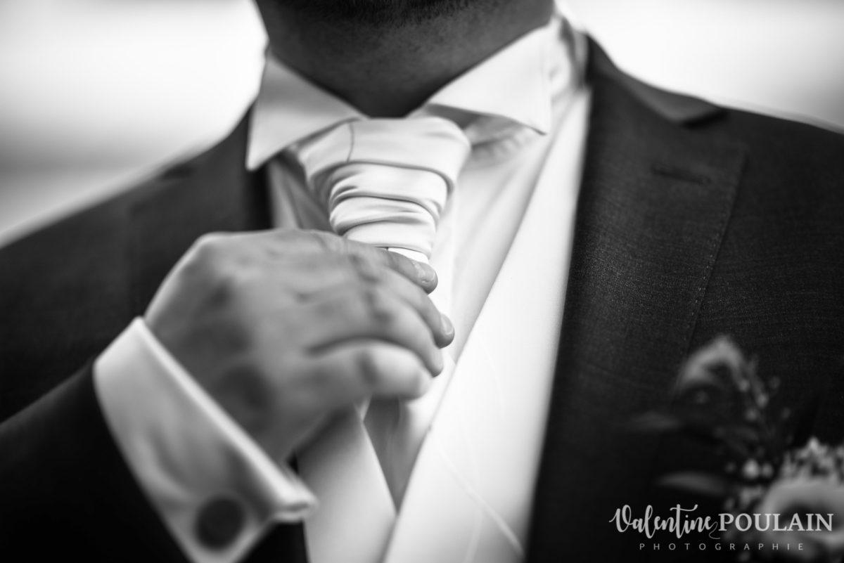 Mariage wedding planner - Valentine Poulain cravatte