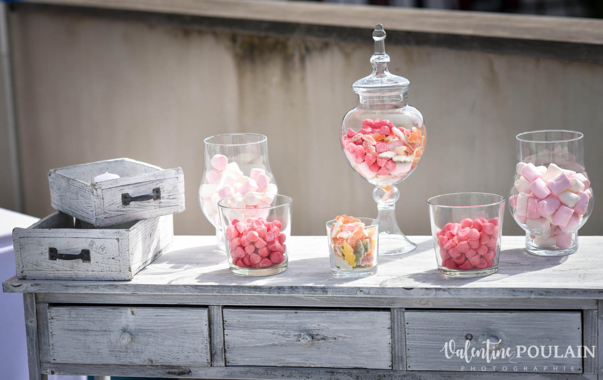 Mariage wedding planner - Valentine Poulain bonbons