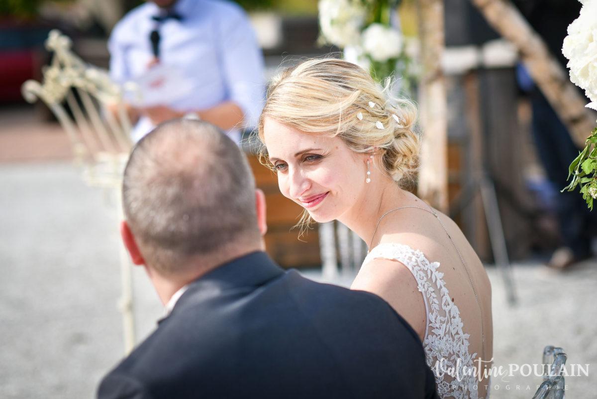 Mariage wedding planner - Valentine Poulain regard
