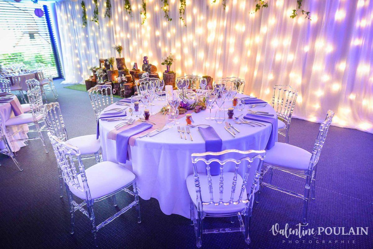 Mariage wedding planner - Valentine Poulain table