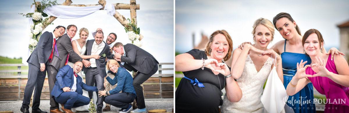 Mariage wedding planner Valentine Poulain friends