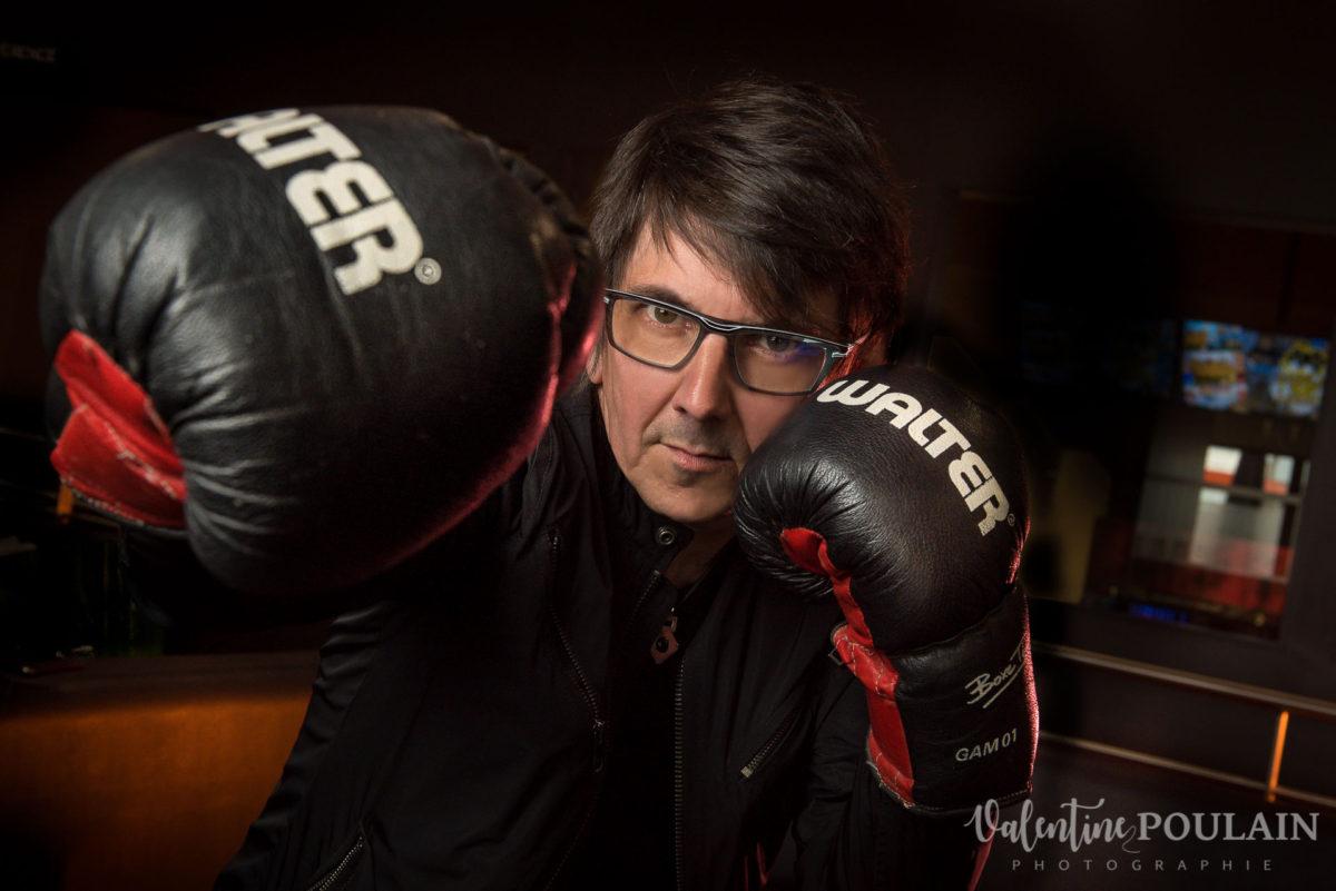 Photo agence communication boxe - Valentine Poulain