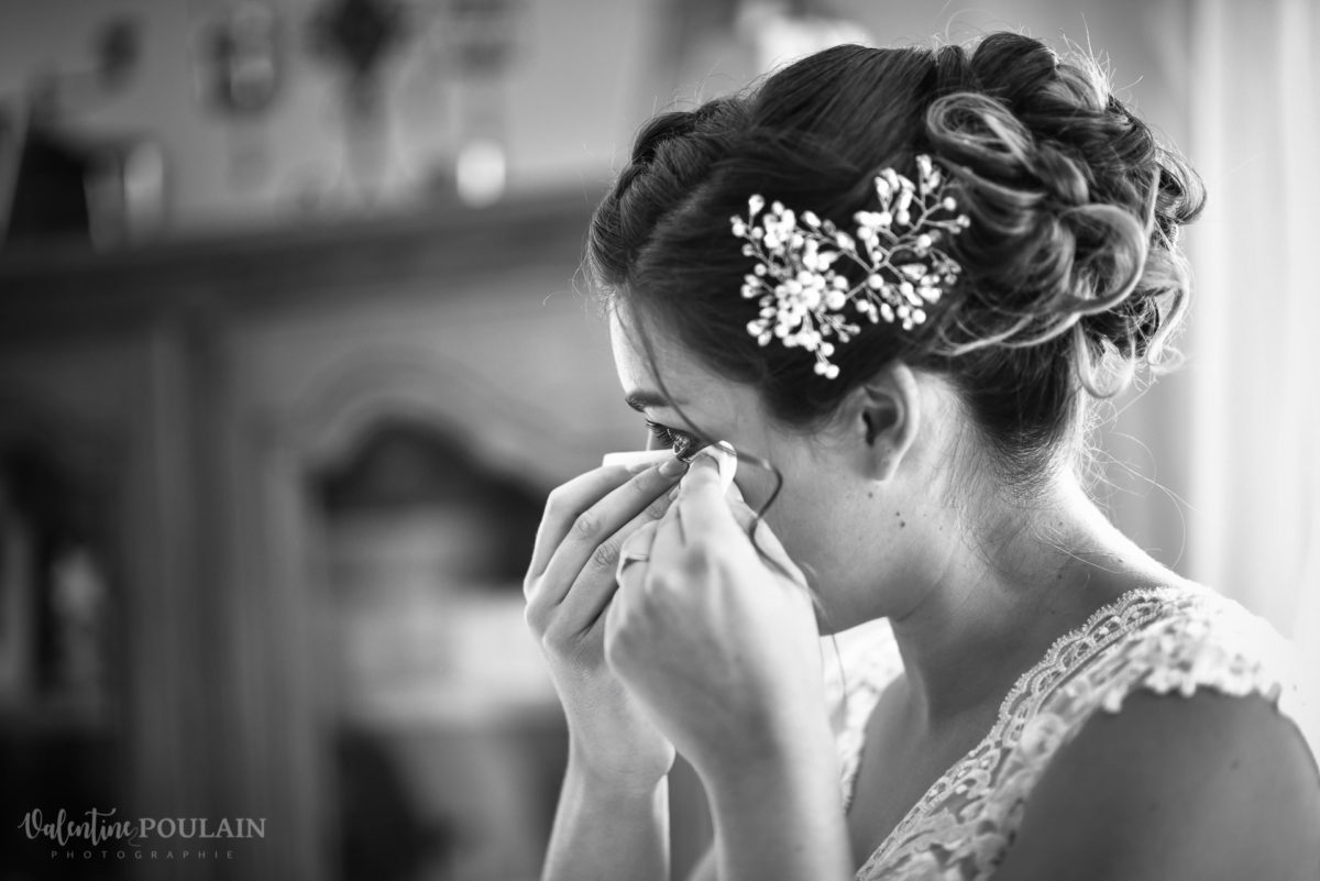 Mariage émotions famille Moosch larme - Valentine Poulain famille
