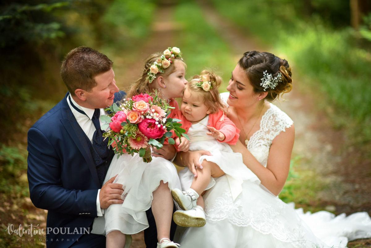 Mariage émotions Moosch photo famille - Valentine Poulain