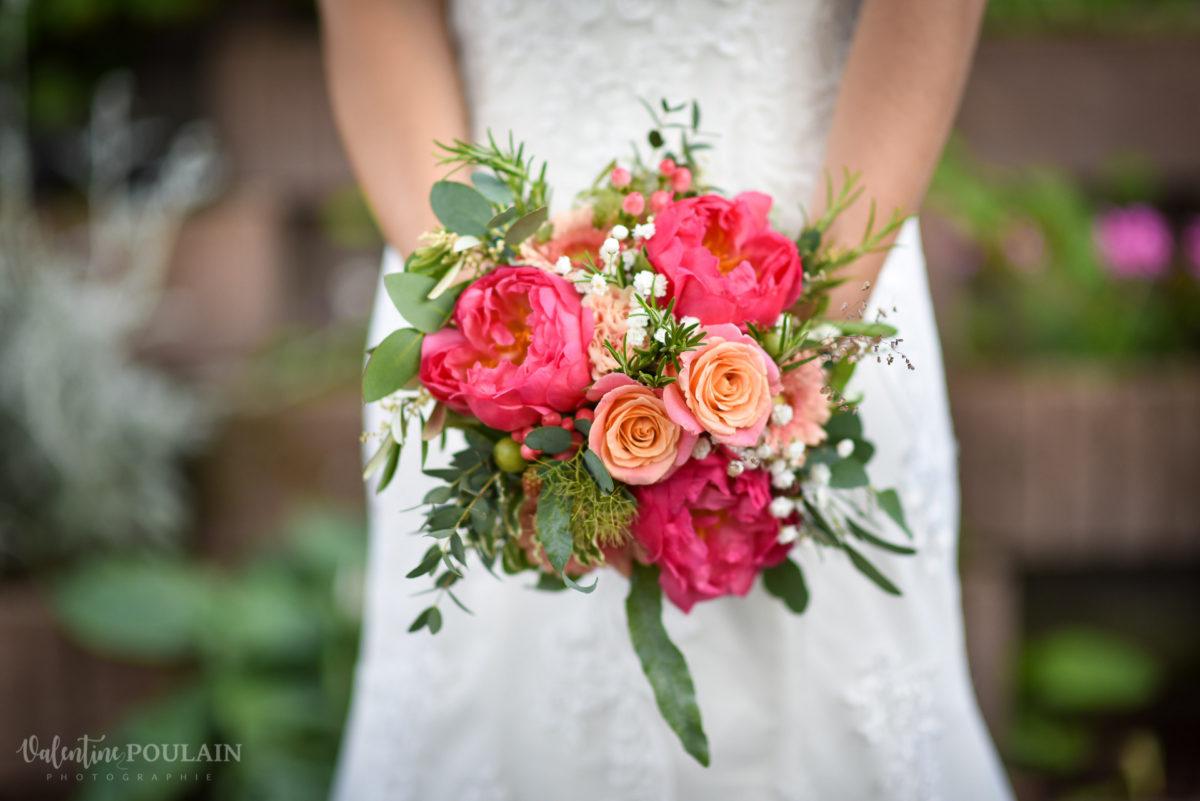 Mariage émotions Moosch bouquet - Valentine Poulain