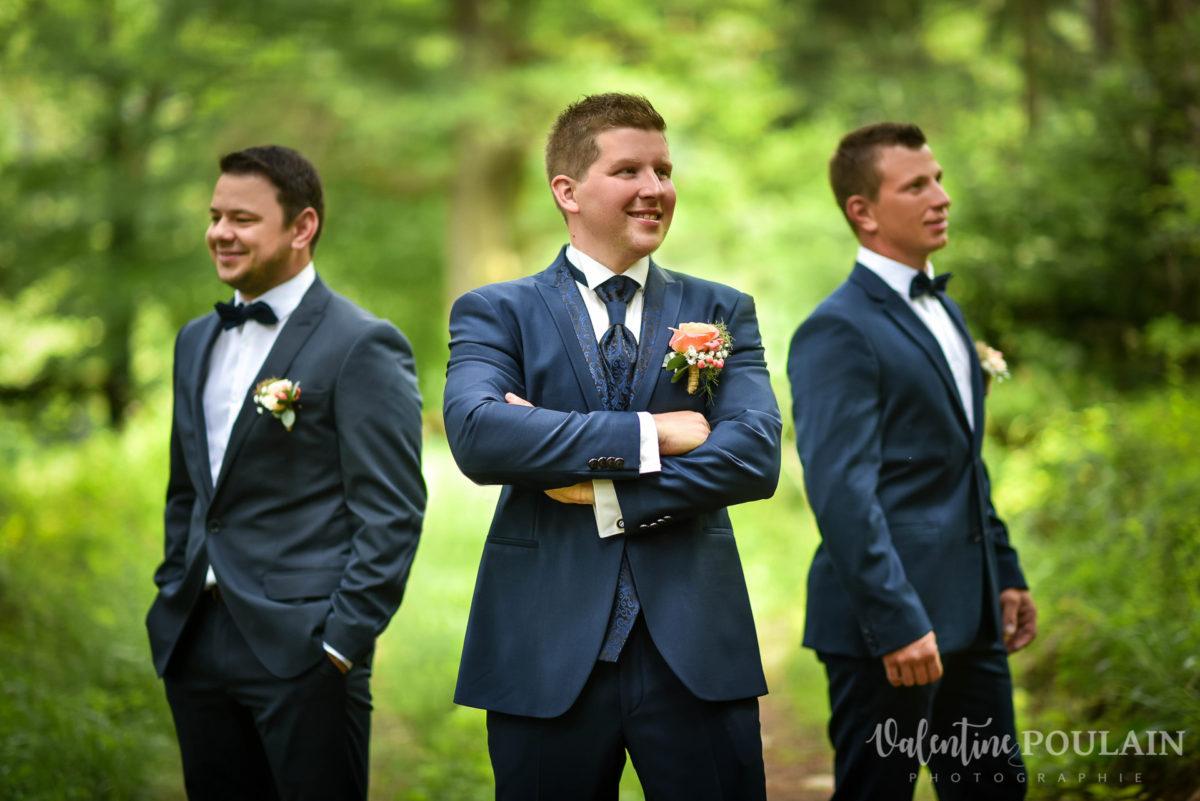 Mariage émotions garçons - Valentine Poulain