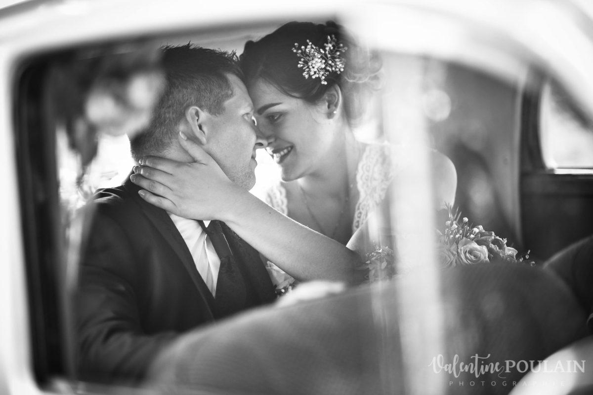 Mariage émotions famille voiture collection couple - Valentine Poulain