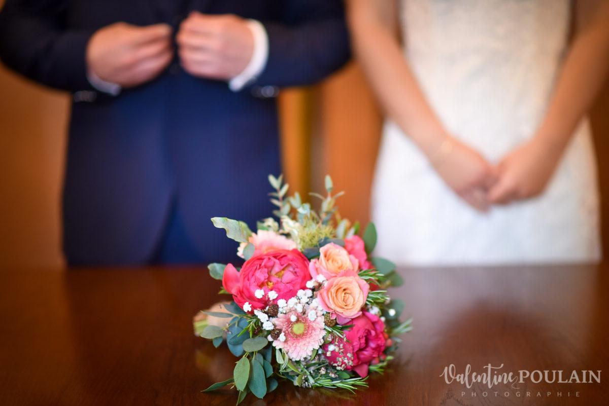 Mariage émotions famille bouquet - Valentine Poulain