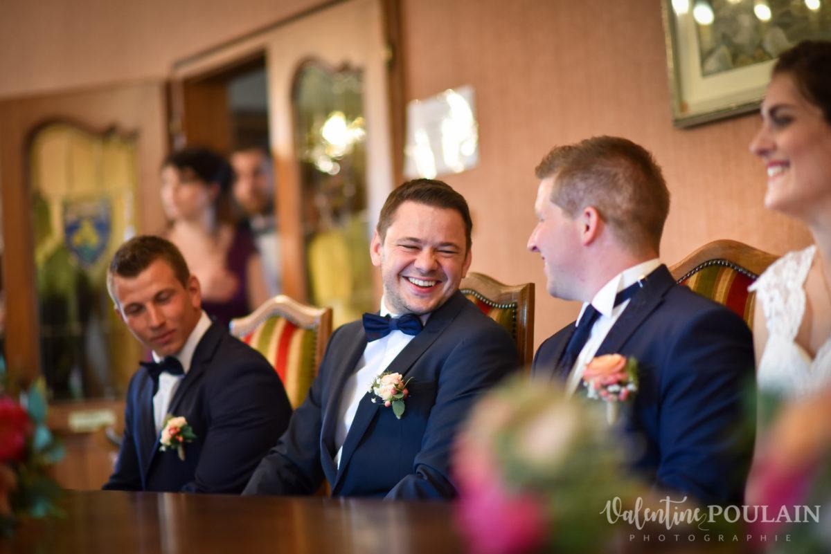 Mariage émotions famille témoin - Valentine Poulain