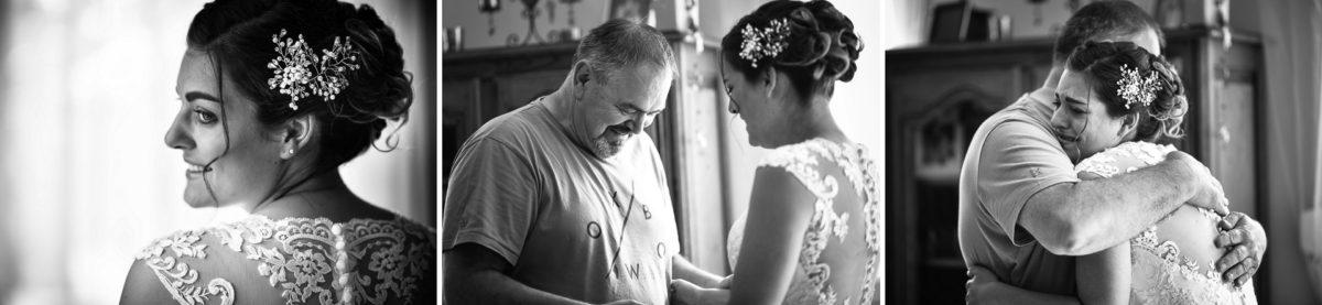 Mariage émotions Moosch papa - Valentine Poulain