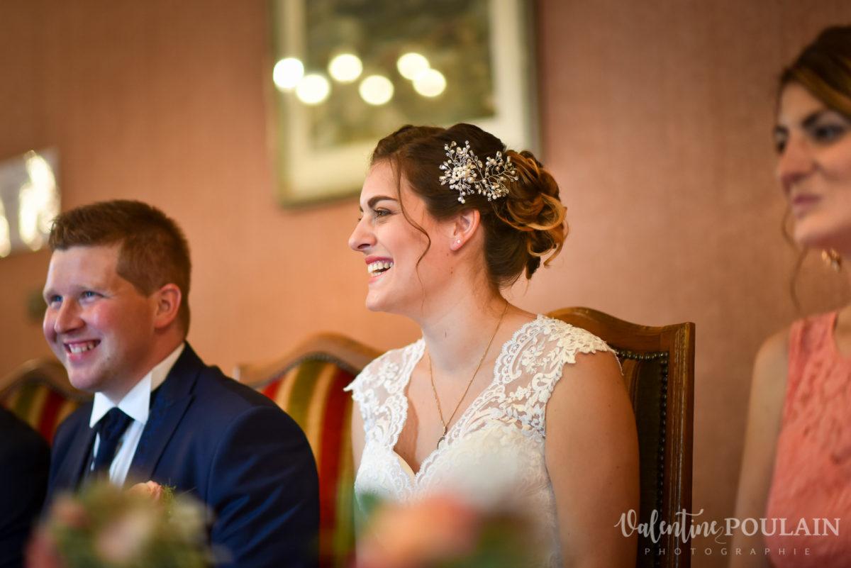 Mariage émotions famille mairie - Valentine Poulain