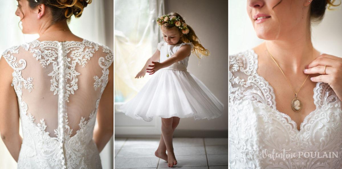 Mariage émotions famille Moosch - Valentine Poulain bride