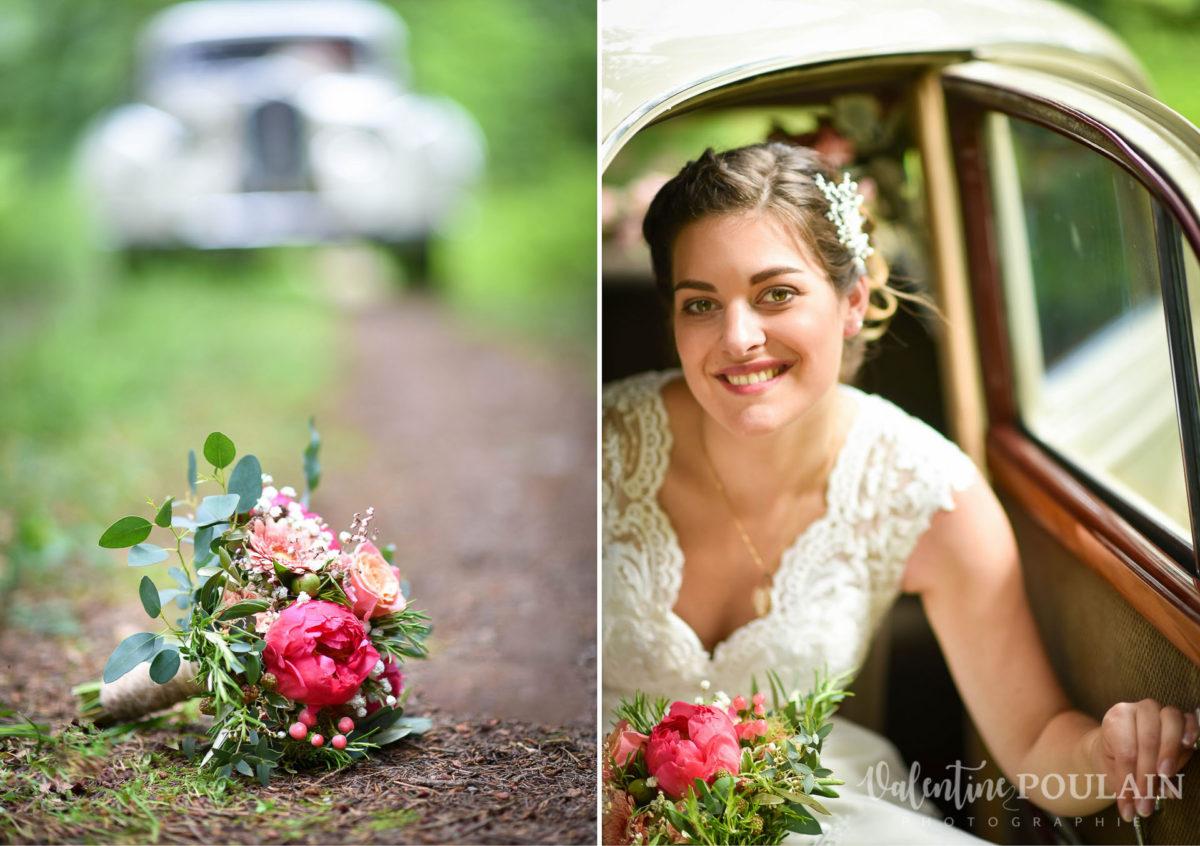 Mariage émotions famille Moosch - Valentine Poulain voiture