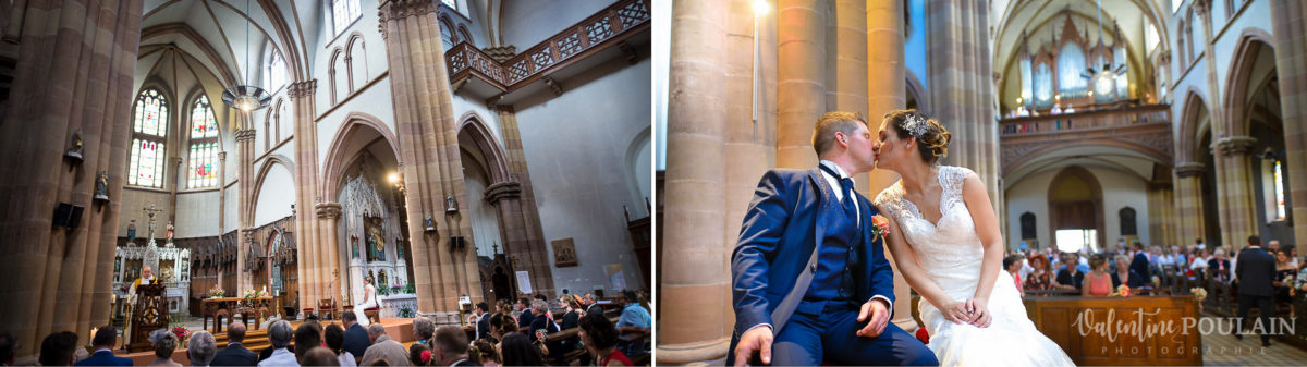 Mariage émotions famille Moosch - Valentine Poulain église