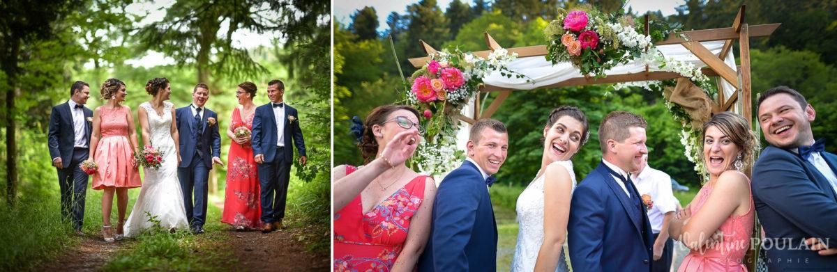 Mariage émotions famille amis Moosch - Valentine Poulain