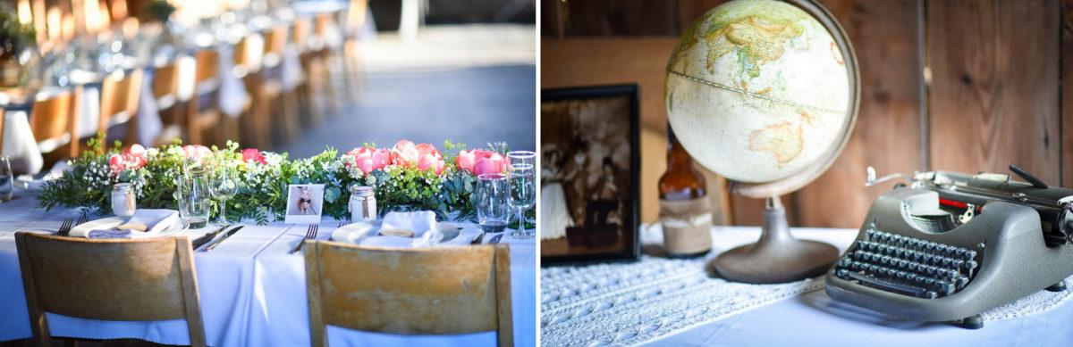 Mariage grange - Valentine Poulain décoration