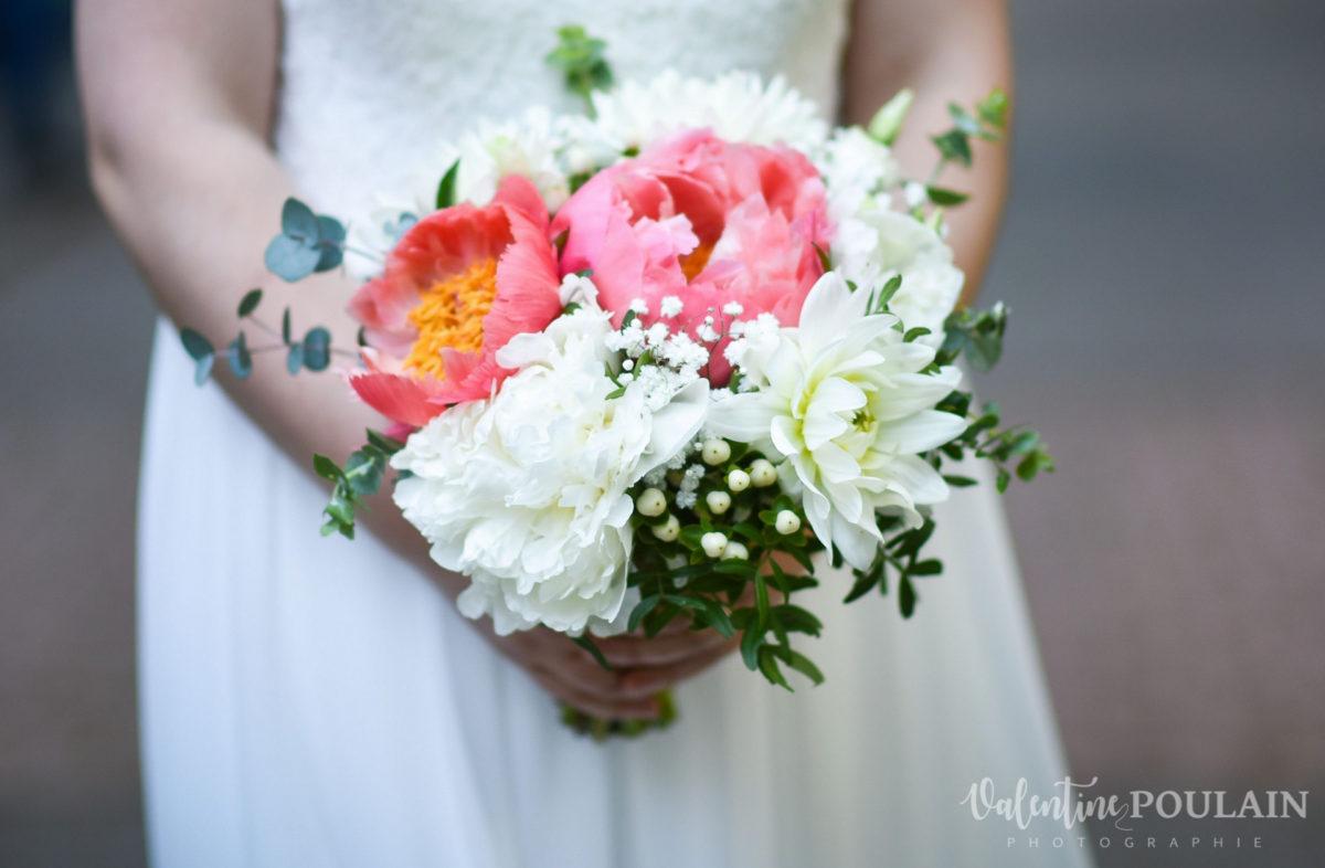 Mariage grange - Valentine Poulain bouquet