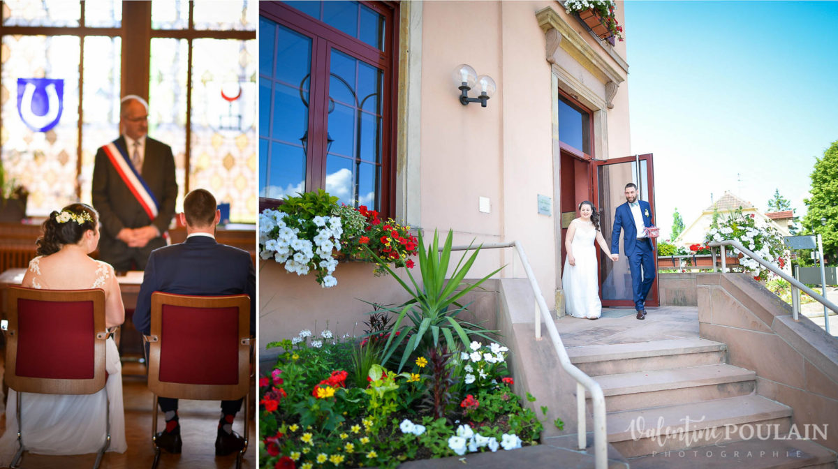 Mariage grange - Valentine Poulain maire