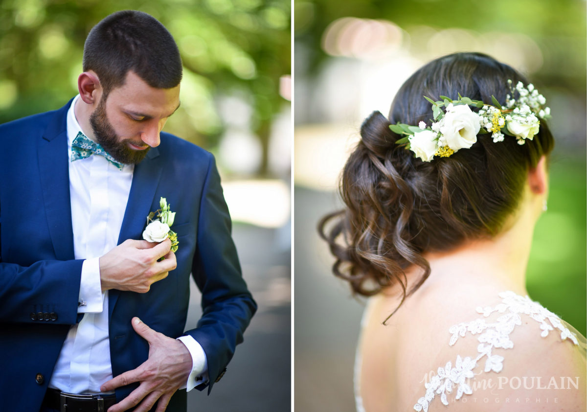 Mariage grange - Valentine Poulain tenues