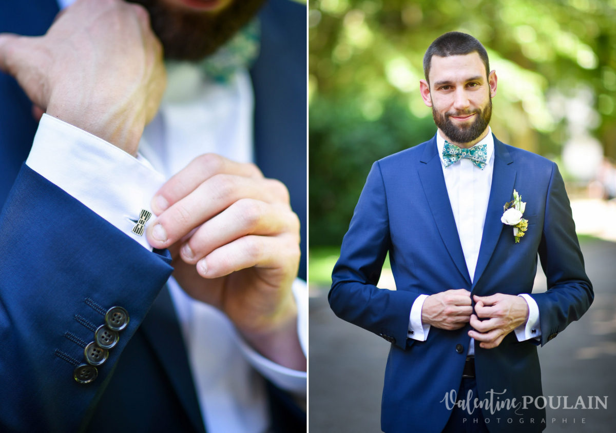 Mariage grange - Valentine Poulain veste