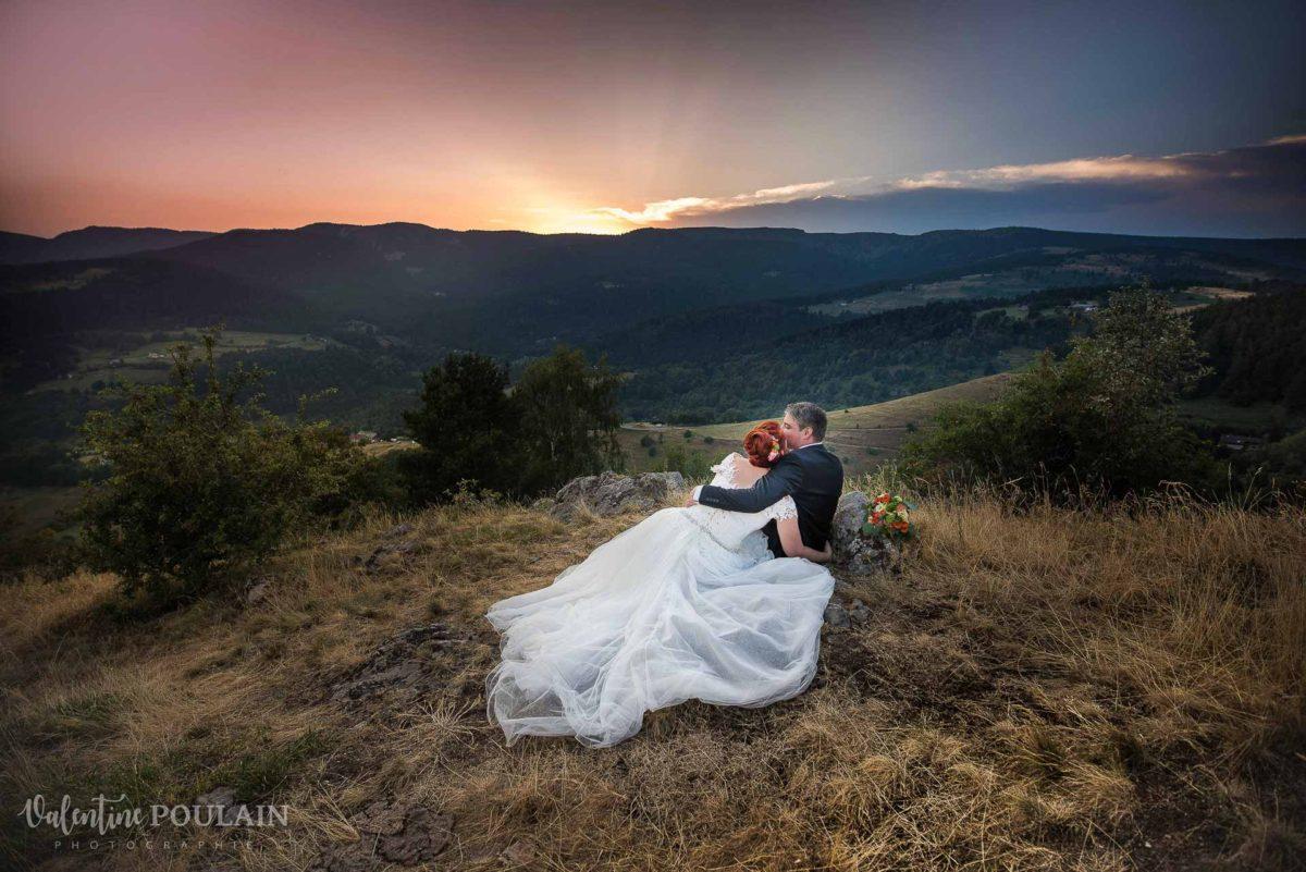 Day after montagne coucher soleil - Valentine Poulain vue