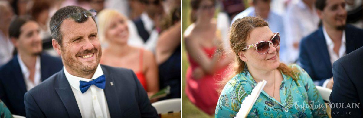 Mariage joyeux vert rose first parents - Valentine Poulain