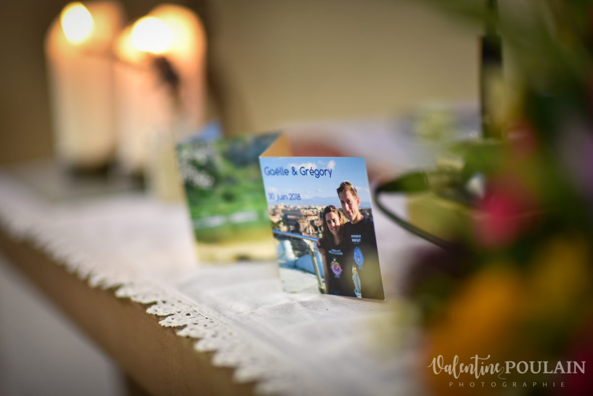 Mariage sportifs - Valentine Poulain invitation