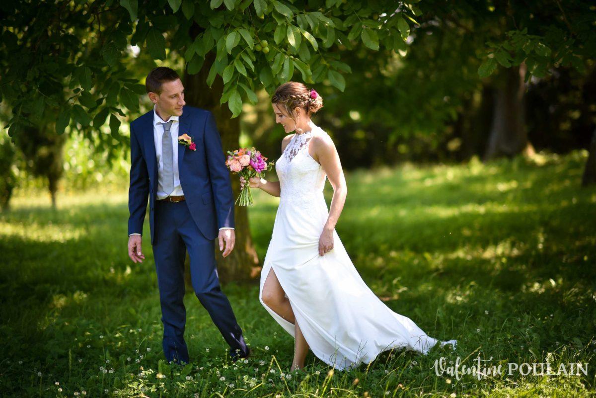 Mariage sportifs - Valentine Poulain marche