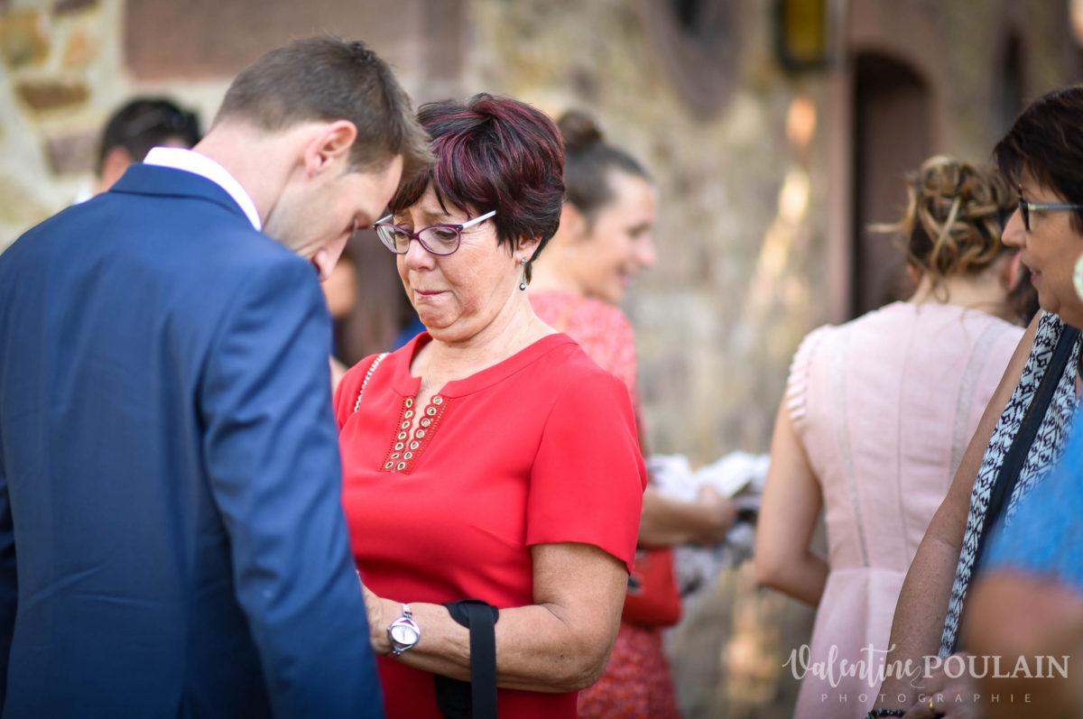 Mariage sportifs - Valentine Poulain mère fils