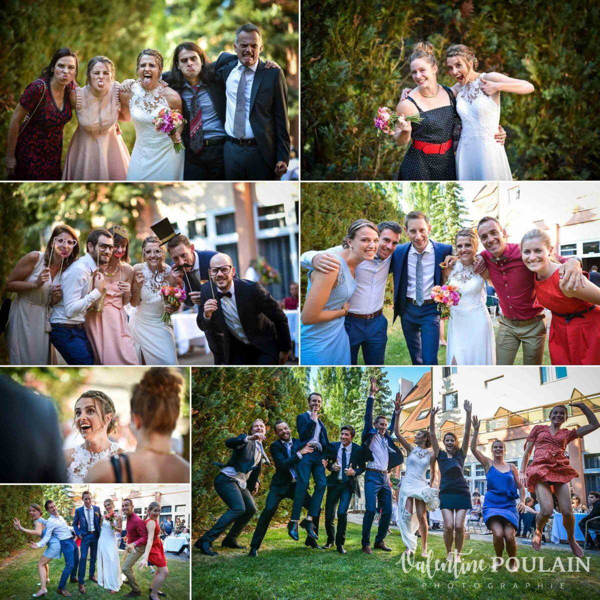 Mariage sportifs vin honneur - Valentine Poulain
