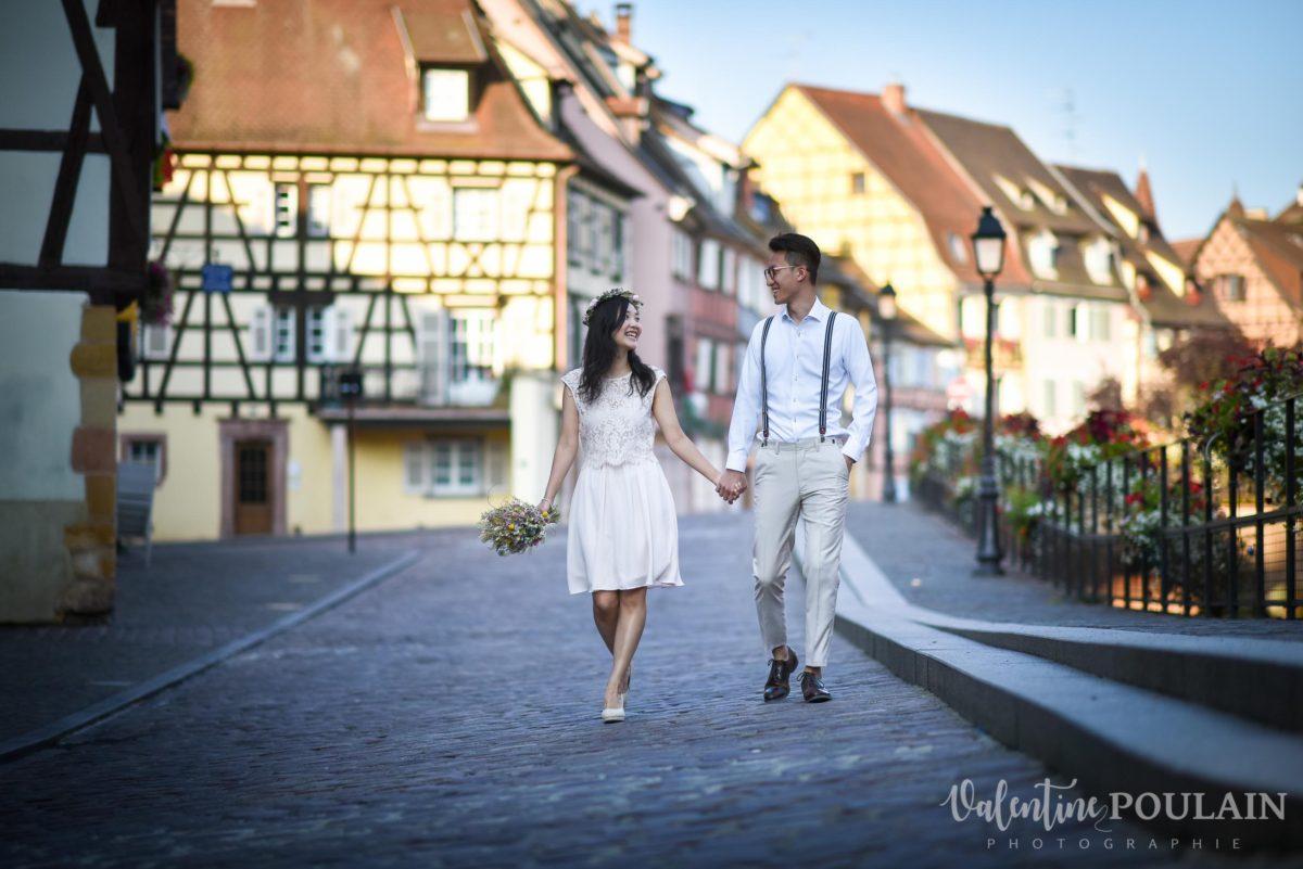 Save the date Colmar couple chinois - Valentine Poulain Petite Venise