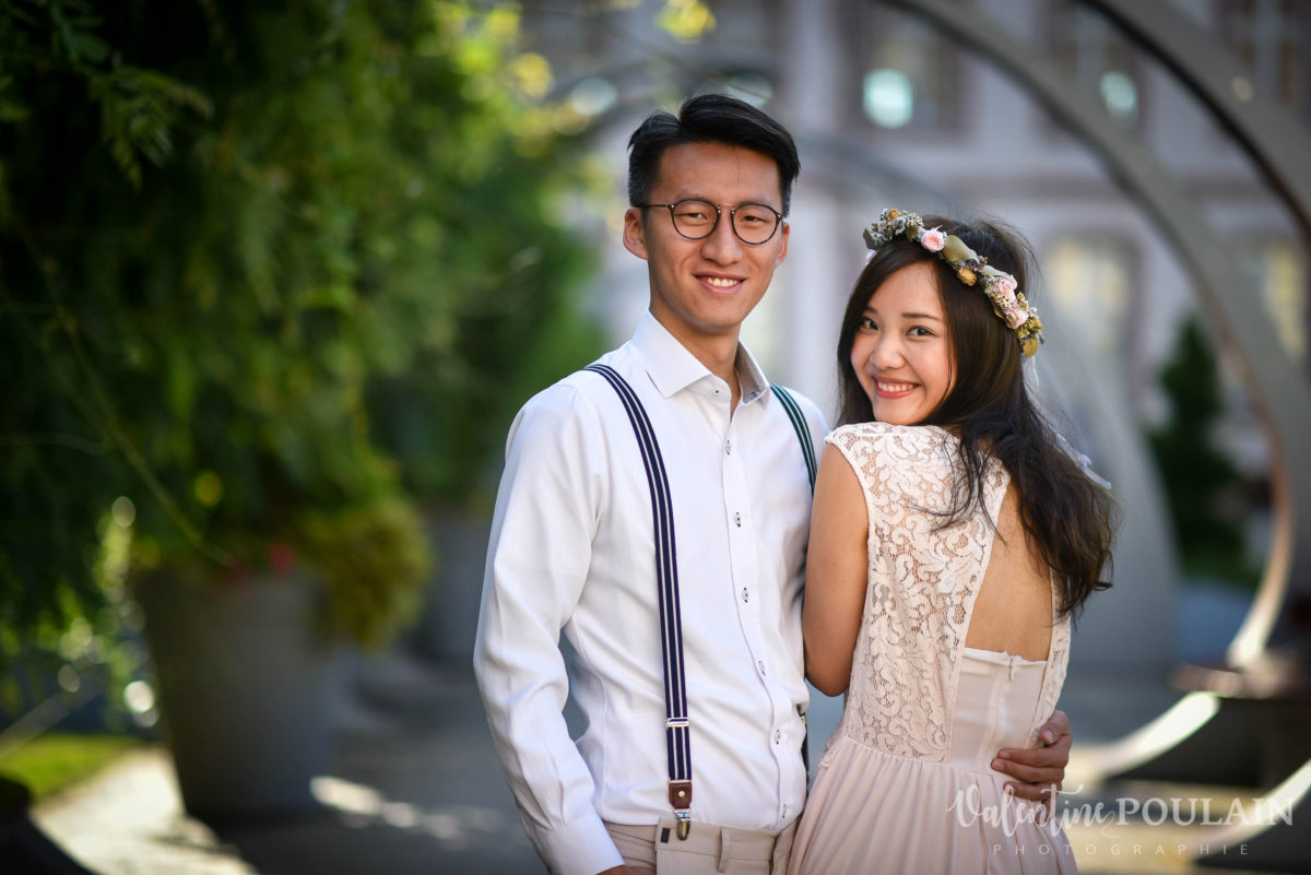 Save the date Colmar couple chinois - Valentine Poulain back