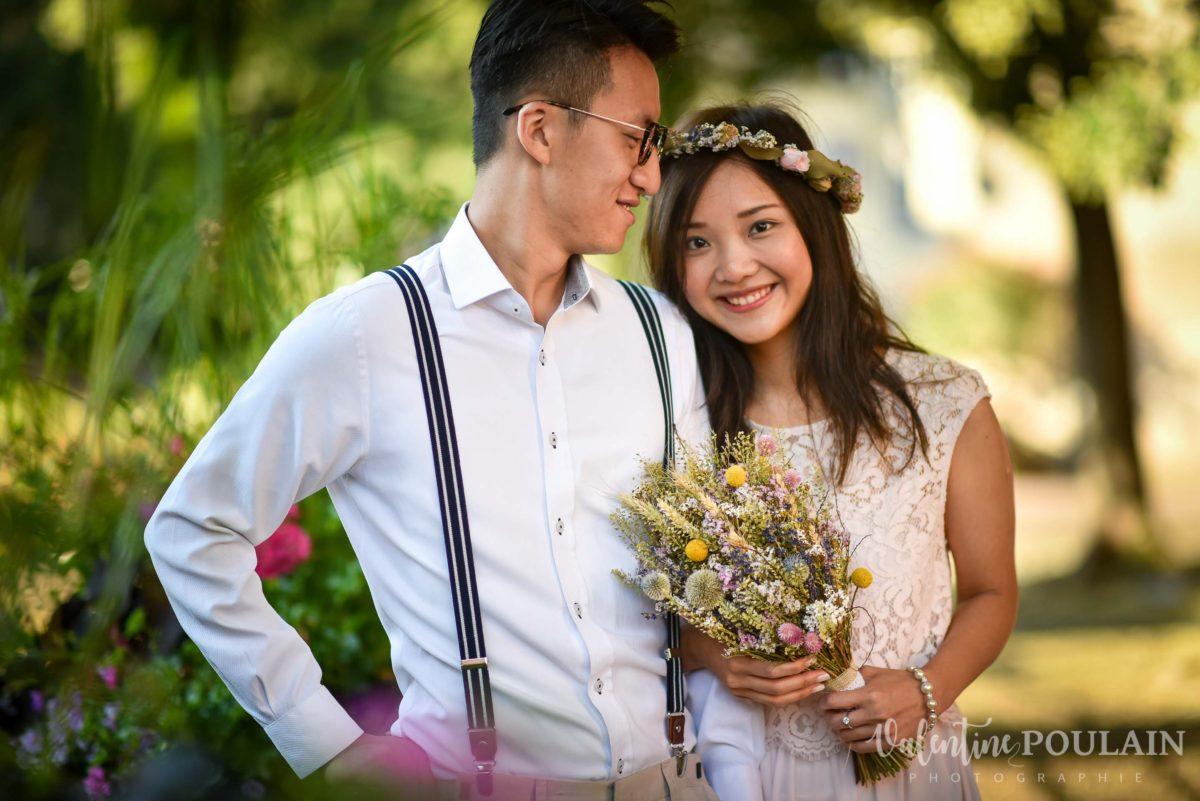 Save the date Colmar couple chinois - Valentine Poulain regard