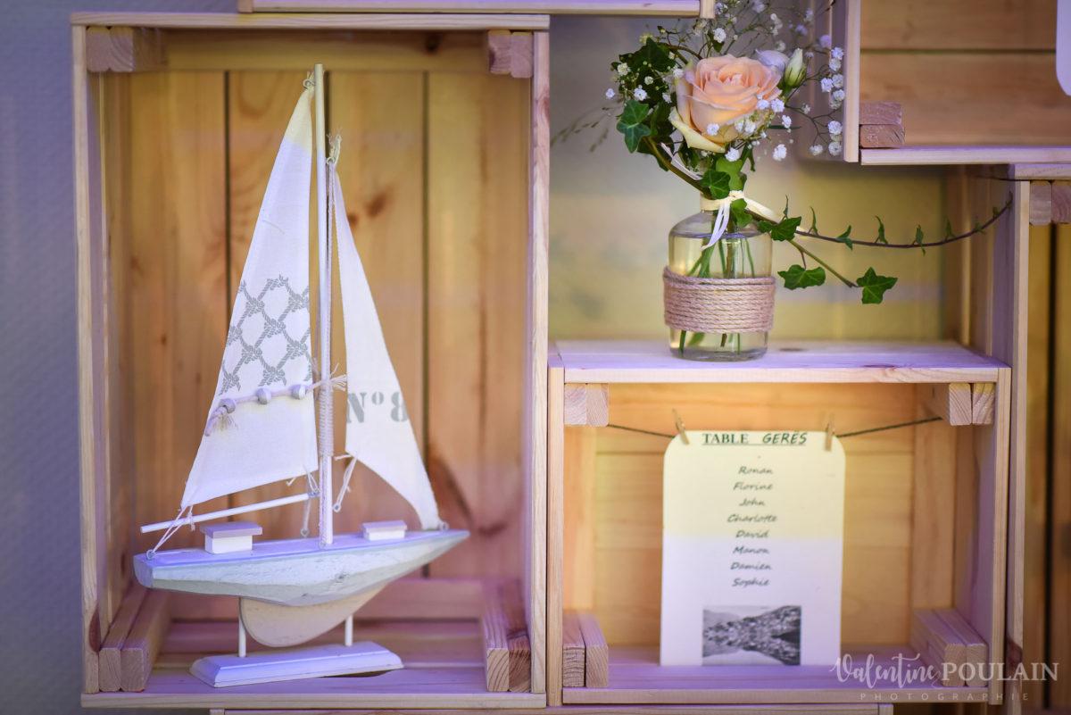 Mariage marin mer - Valentine Poulain bateaux