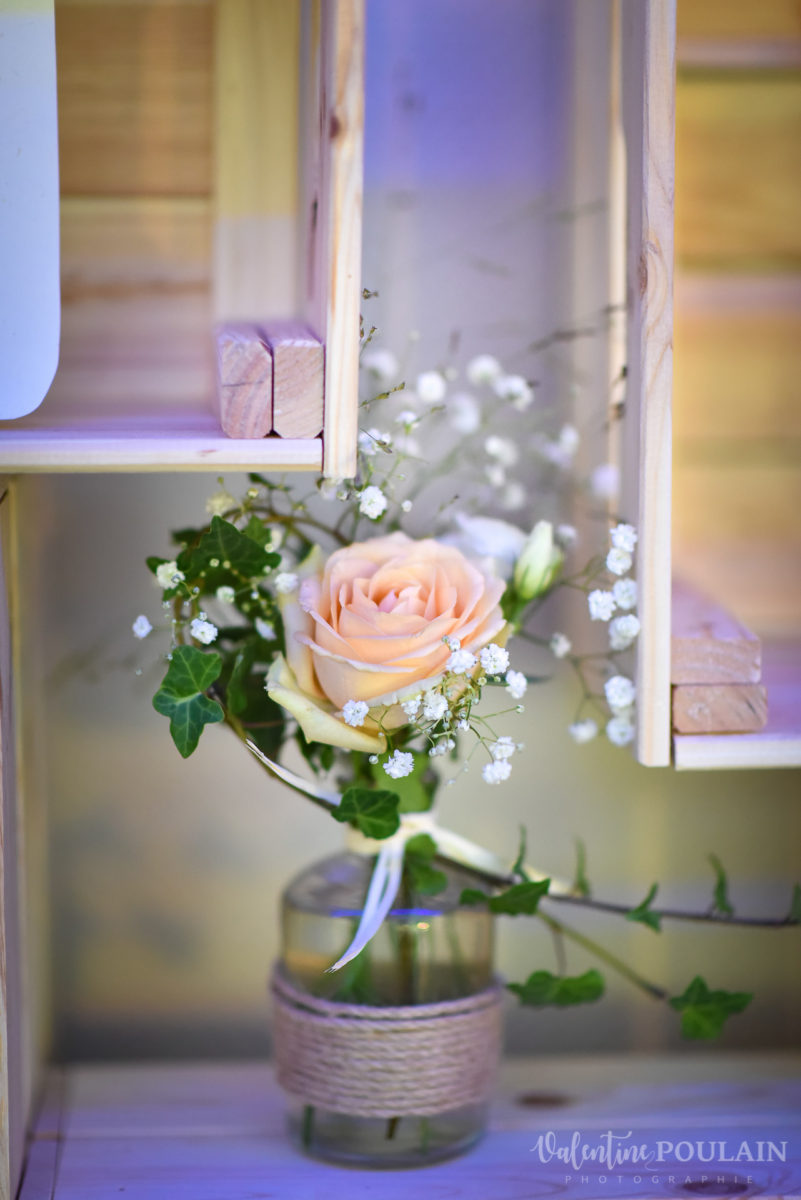 Mariage marin mer - Valentine Poulain fleur