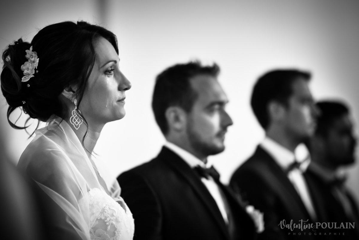 Mariage marin mer - Valentine Poulain larmes