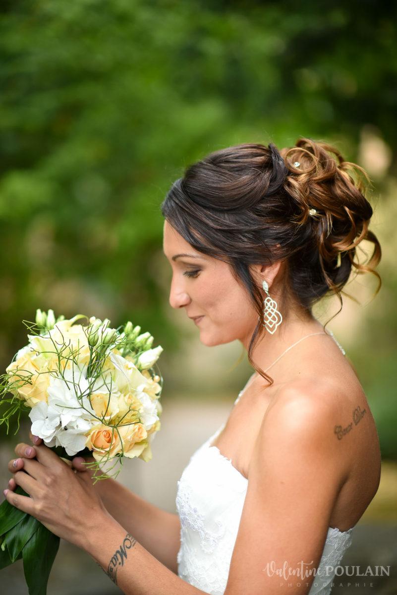 Mariage marin mer - Valentine Poulain mariée