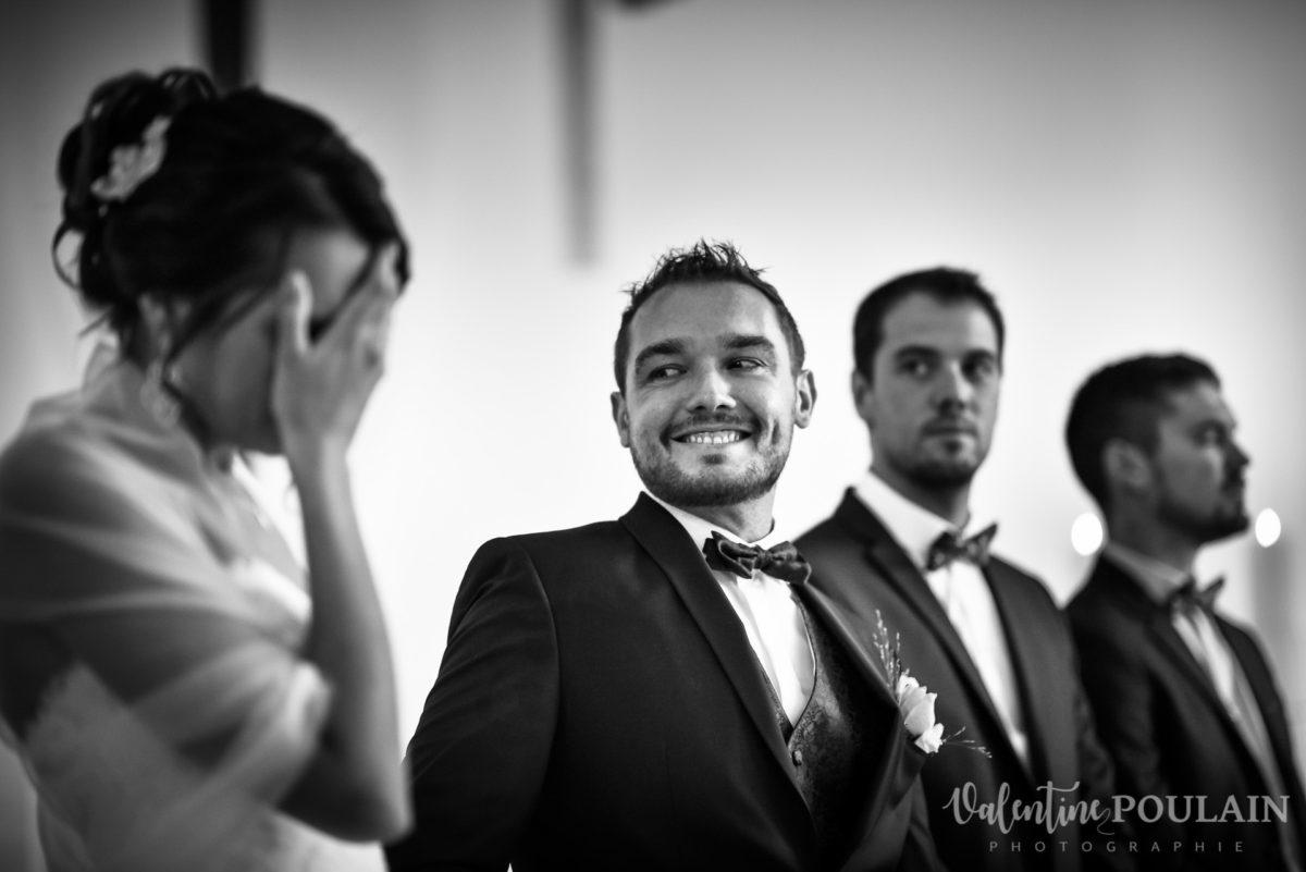 Mariage marin mer - Valentine Poulain sourire