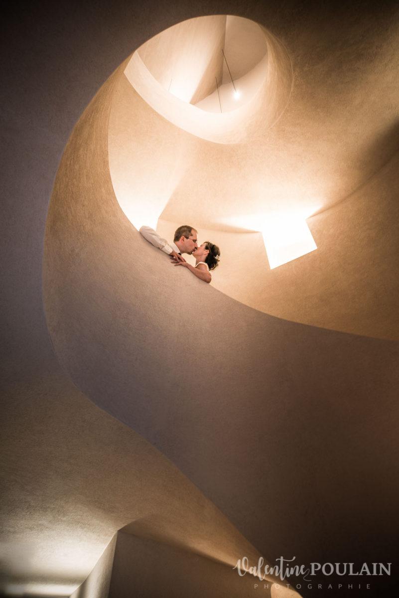 Mariage musée Unterlinden - Valentine Poulain escalier