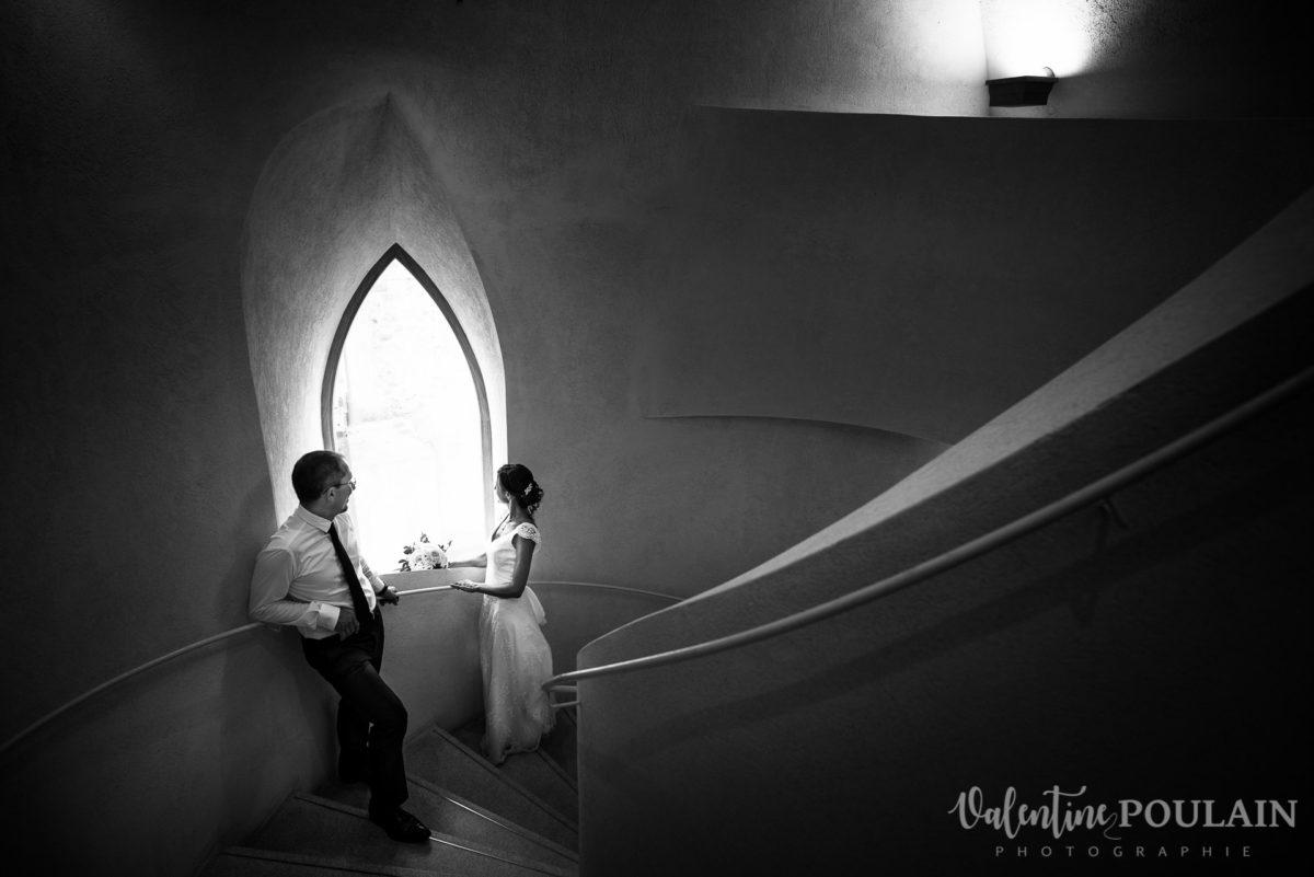 Mariage musée Unterlinden - Valentine Poulain escaliers