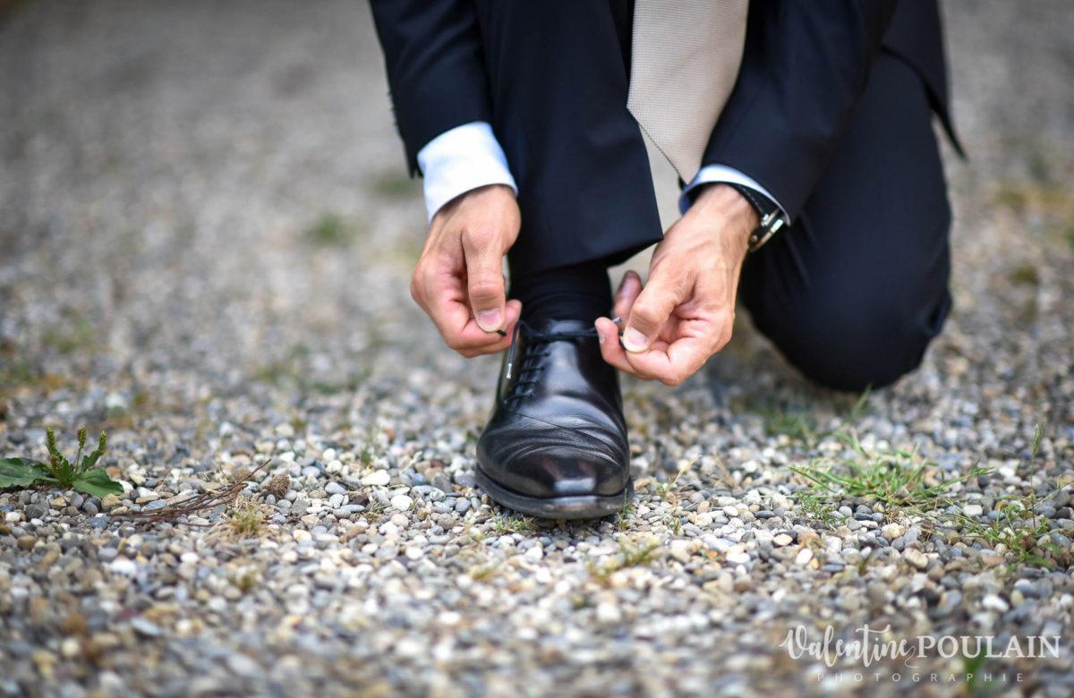 Mariage musée papier peint - Valentine Poulain chaussure