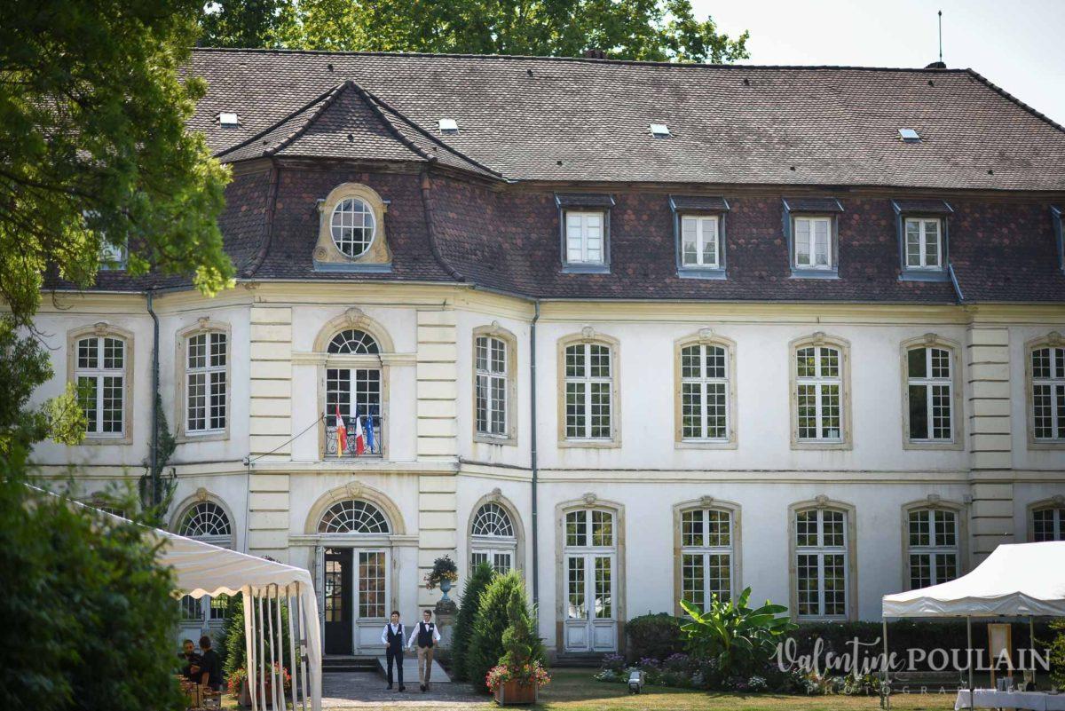 Mariage musée papier peint - Valentine Poulain bâtiment