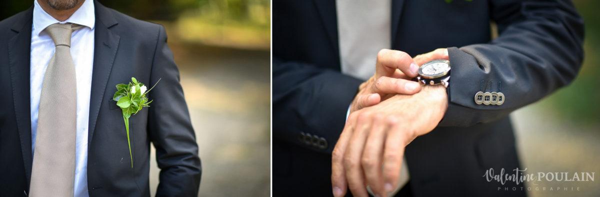 Mariage musée papier peint - Valentine Poulain - cravate
