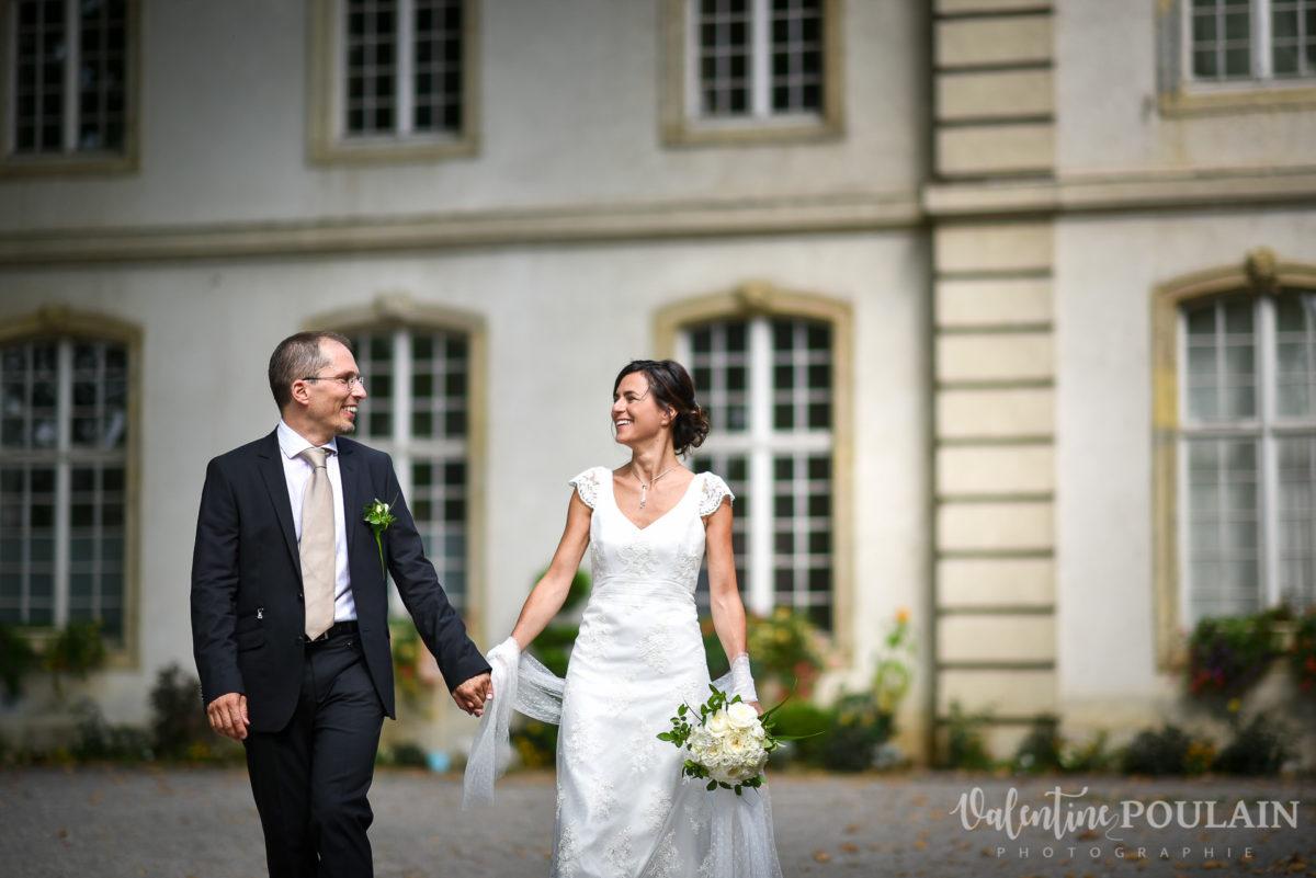 Mariage musée papier peint - Valentine Poulain marcher