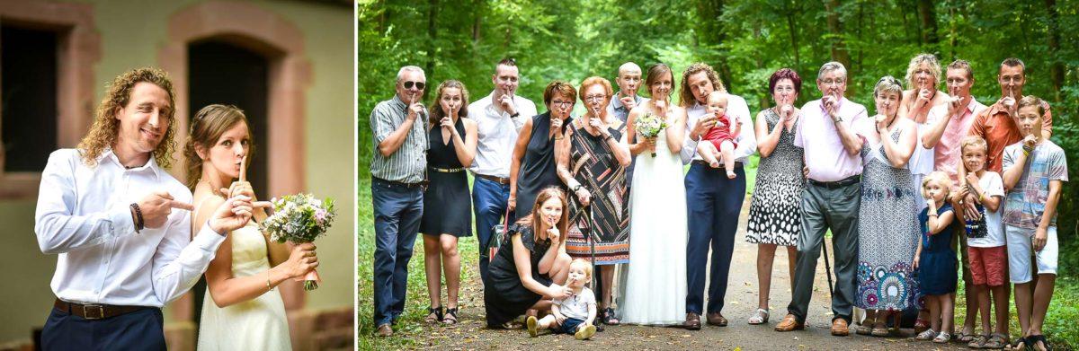 Mariage surprise famille - Valentine Poulain