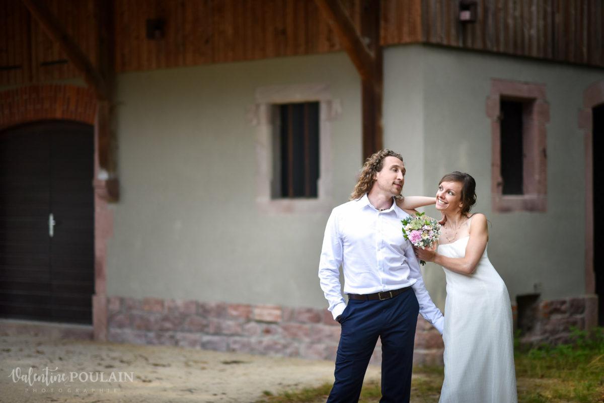 Mariage surprise L-S sourire