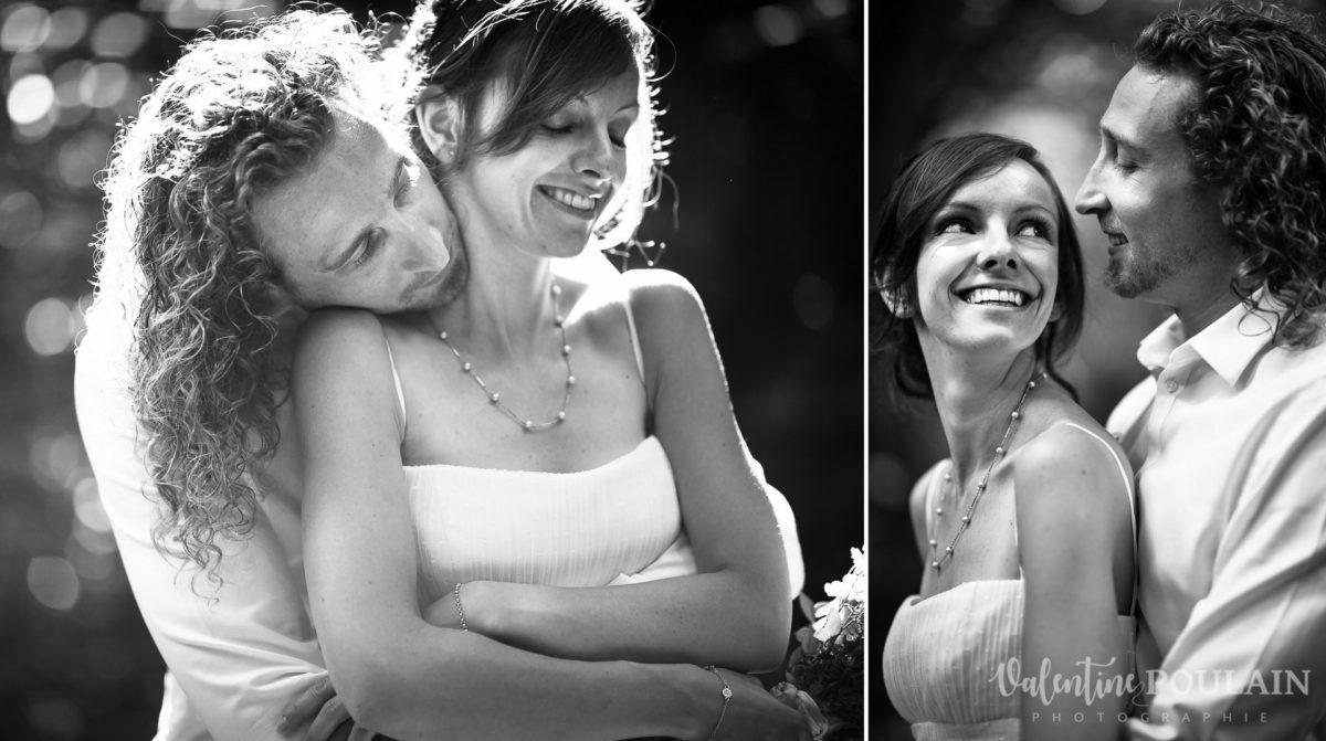 Mariage surprise - Valentine Poulain couple