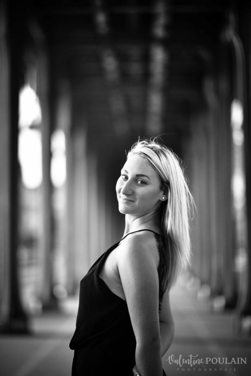 Shooting photo portrait Paris - Valentine Poulain Bir Hakeim