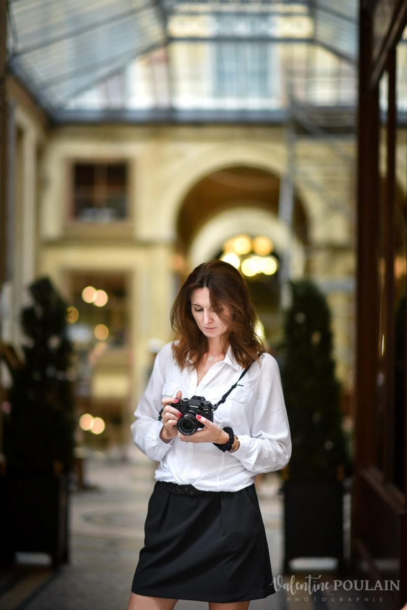 Shooting photo portrait Paris - Valentine Poulain Brigitte