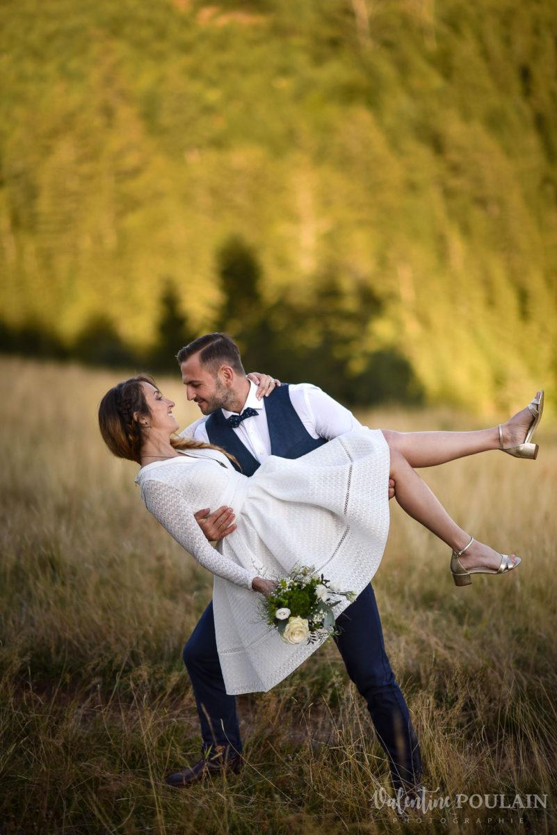 Mariage intimiste montagne - Valentine Poulain danse